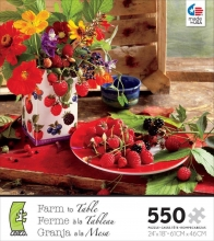 PUZZLE FARM TO TABLE kwiaty